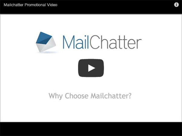 MailChatter Promotional Video