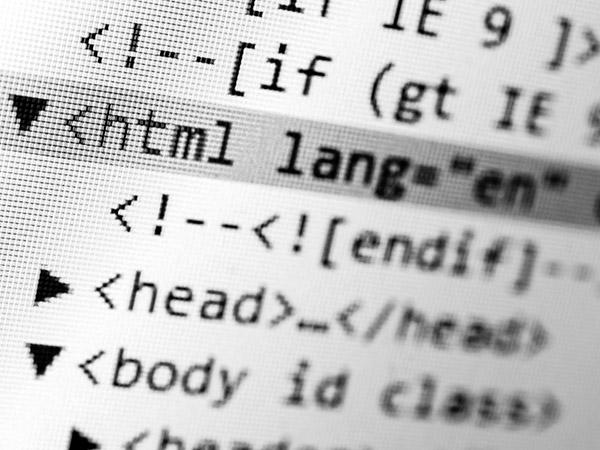 Use HTML